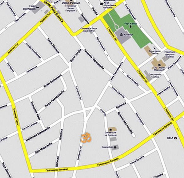 mapa sombora Joga Sombor :: Sonćanski put 47 :: Sombor mapa sombora